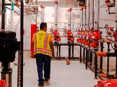 Chesapeake Sprinkler Company Installation